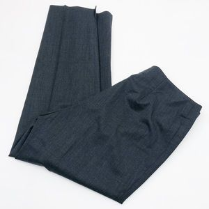 Lafayette 148 New York Grey Pull On Trousers